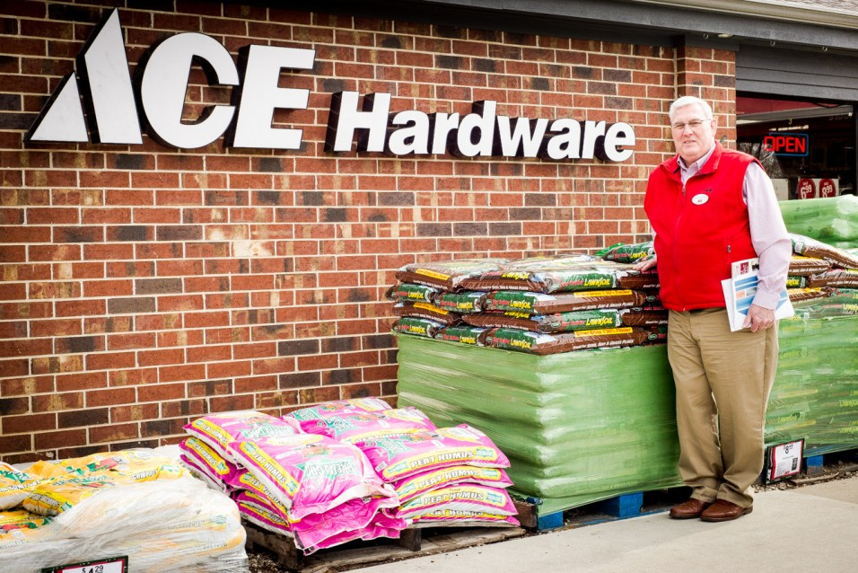 John Brown, Ace Hardware owner - Photo by Kate Smith