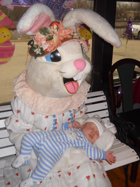 Chessie's Easter Bunny - 2