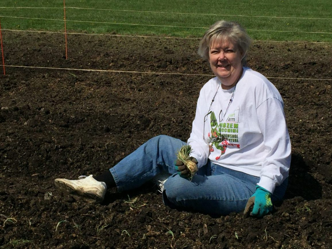 Kathy Phelan, Trauma Coordinator at Advocate Good Shepherd and Smart Farm Volunteer