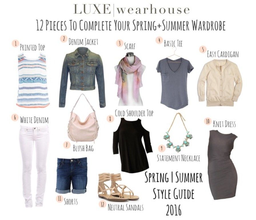 spring summer style guide 2016