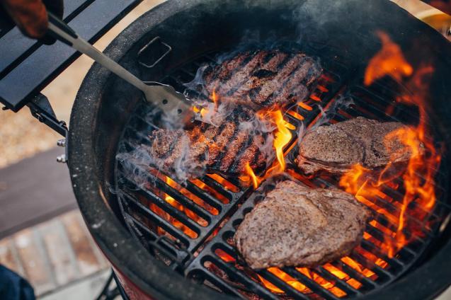 Kamado Joe Ceramic Grills - Photos Courtesy of Kamado Joe