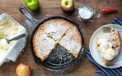 Cooking with Heinens | Autumn Apple Skillet Cake