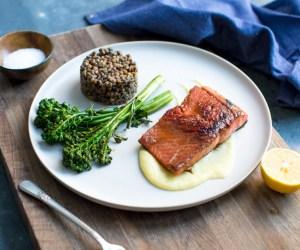 Cooking with Heinen's | Pan Seared Alaskan Salmon with Meyer Lemon Sauce