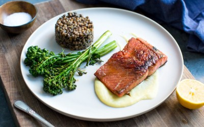 Cooking with Heinen's | Pan Seared Alaskan Salmon with Meyer Lemon Sauce