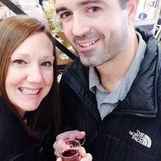 Enjoying Barrington's Wine Walk