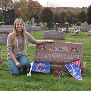 Evergreen Cemetery Cubs Fans