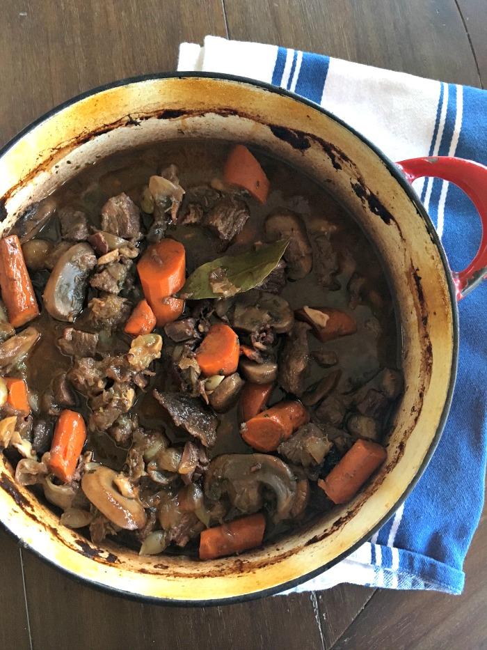 Courtney's Beef Bourguignon - 1