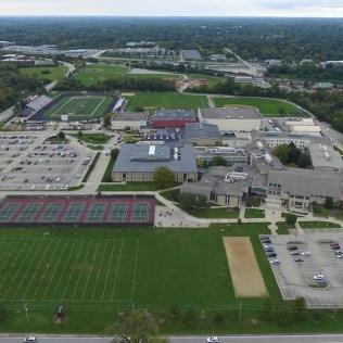 Birdseye View of Barrington HIgh School - Scott R
