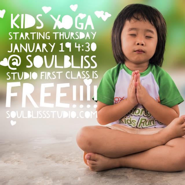NoonDaily - Soul Bliss Studio - Kids Yoga