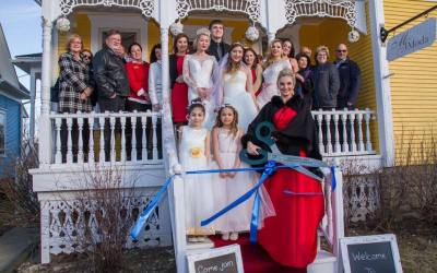 MS Moda Bridal Salon Celebrates Valentine's Day Grand Opening on Cook Street