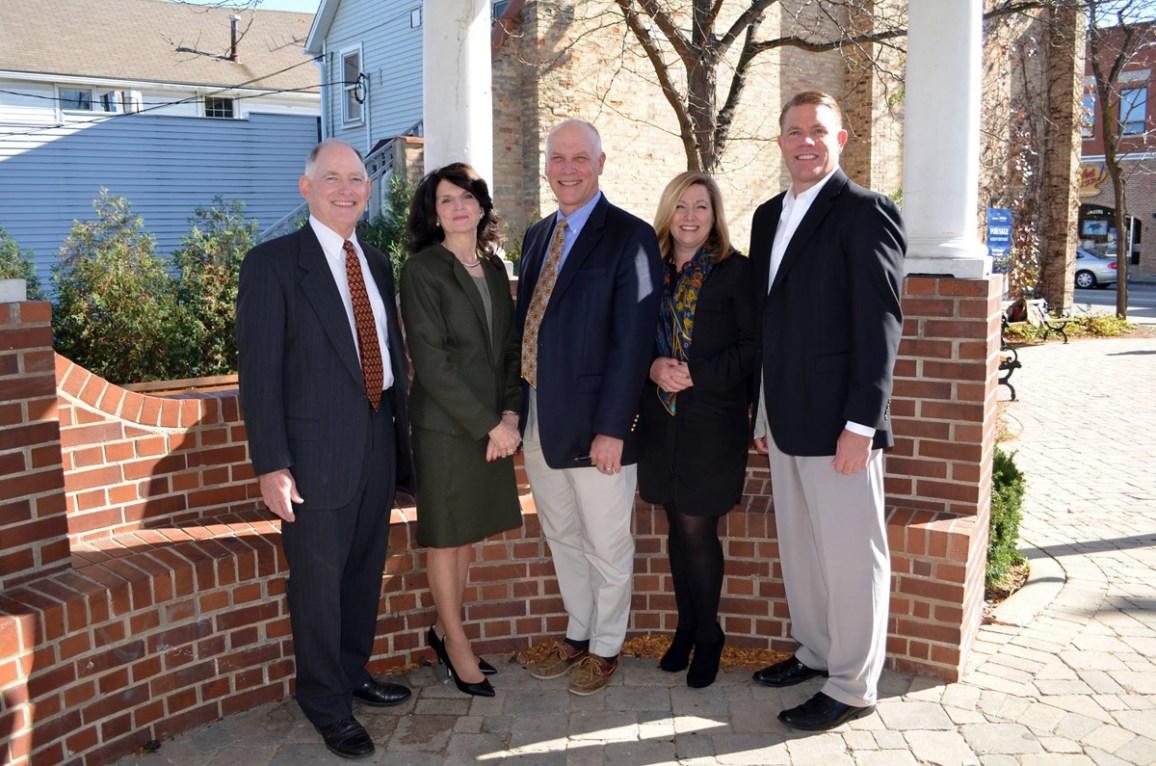Trustee Candidates,Ryan Julian incumbent Todd Sholeen, Jennifer Wondrasek and Jeff J. Janssen with Karen Darch