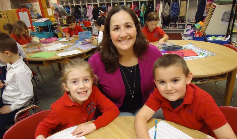 "A Year in the Life of a Kindergartner at Saint Anne Parish ""Blue Ribbon"" School"