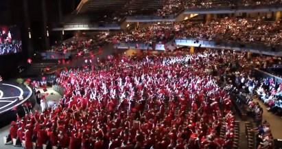 365 - Brad Paisley Performs Barrington High School Graduation - -2