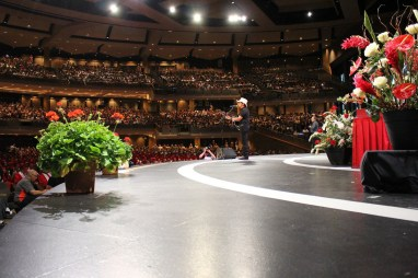365 - Brad Paisley Performs Barrington High School Graduation - -21