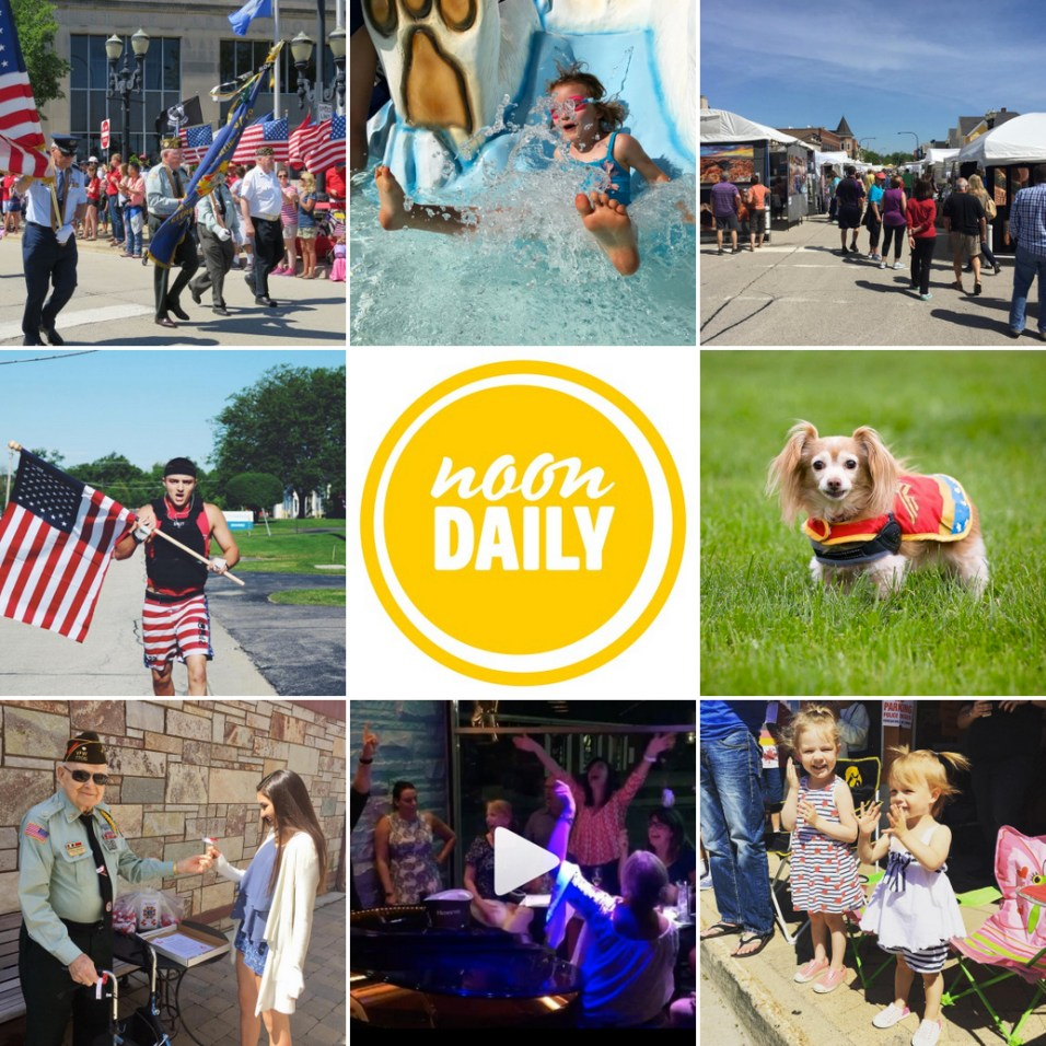 NoonDaily - Memorial Day Weekend Collage - 1