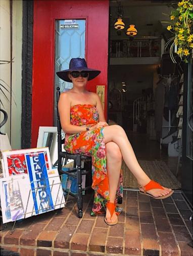 Morgani Mehalic Designs at Sidewalk Sale Days
