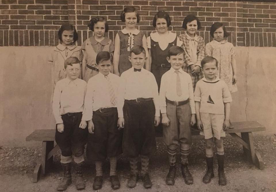 Saint Anne Parish School - 1933 - 3rd Grade