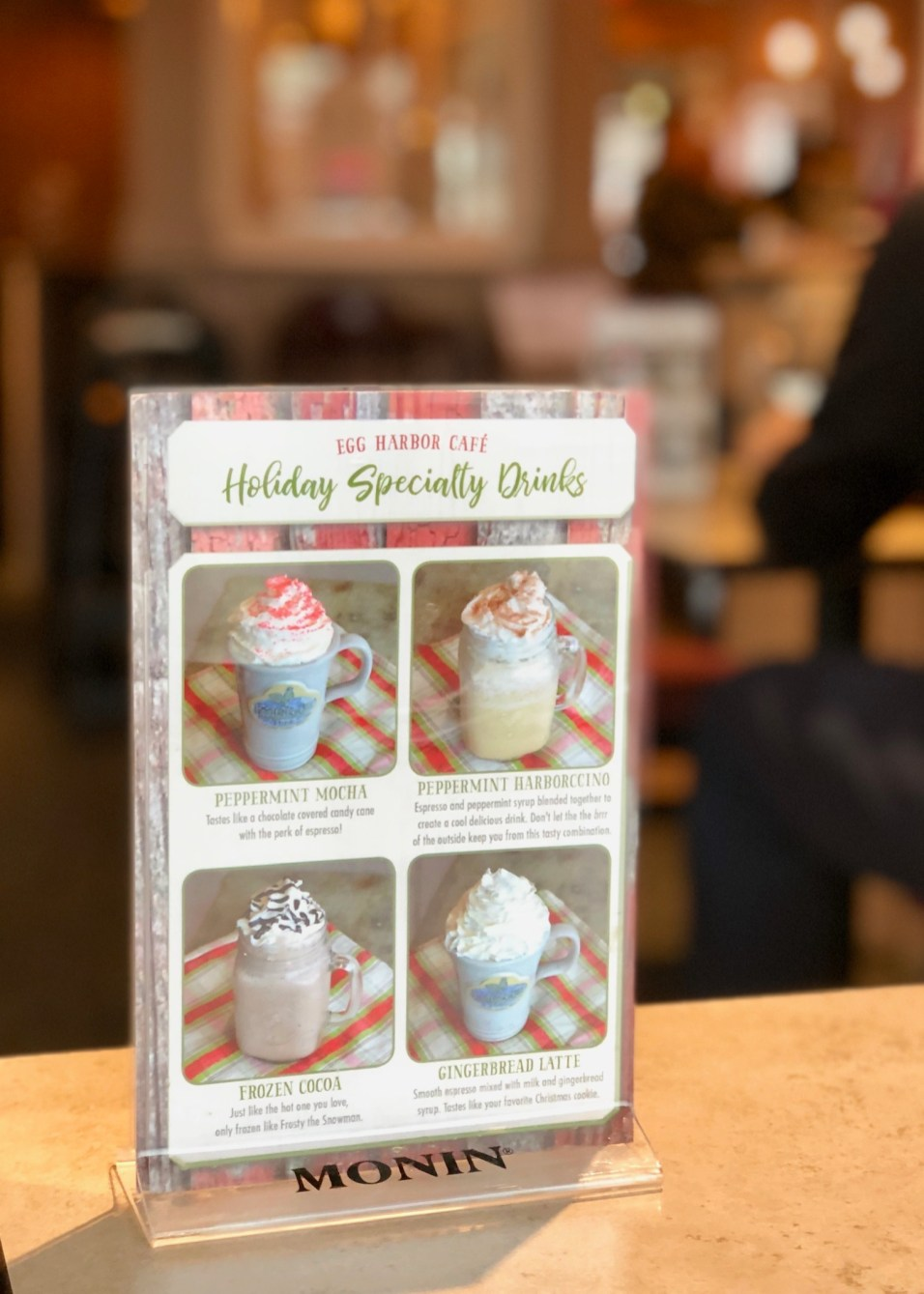 Egg Harbor Cafe - Holiday Specialty Drinks - 1