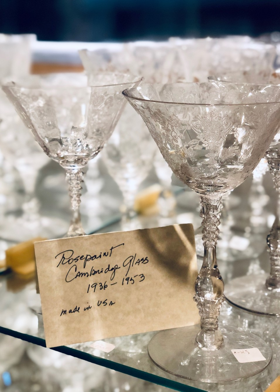 Paris Market Antiques Crystal - 17
