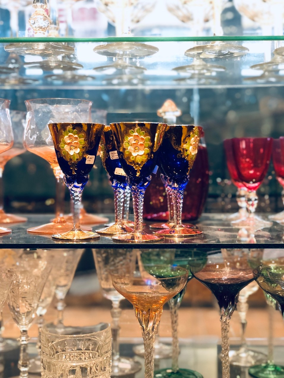 Paris Market Antiques Crystal - 28