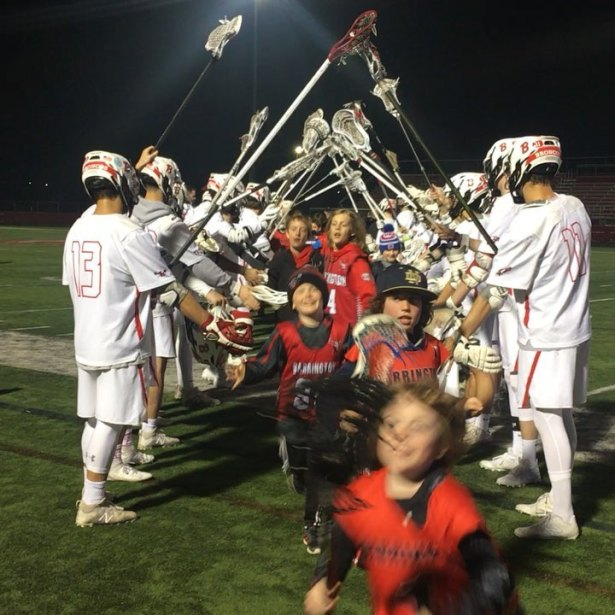 Barrington Youth Lacrosse Senior Night - 13