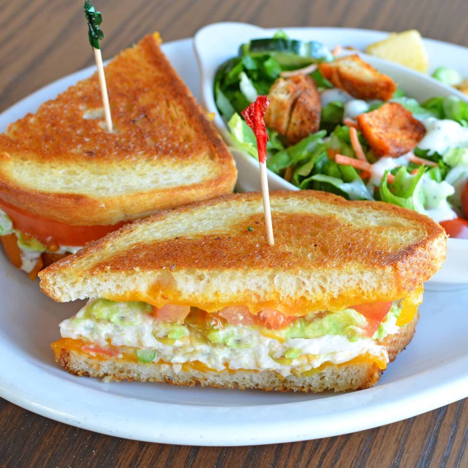Love Egg Harbor Café's Lobster Melt