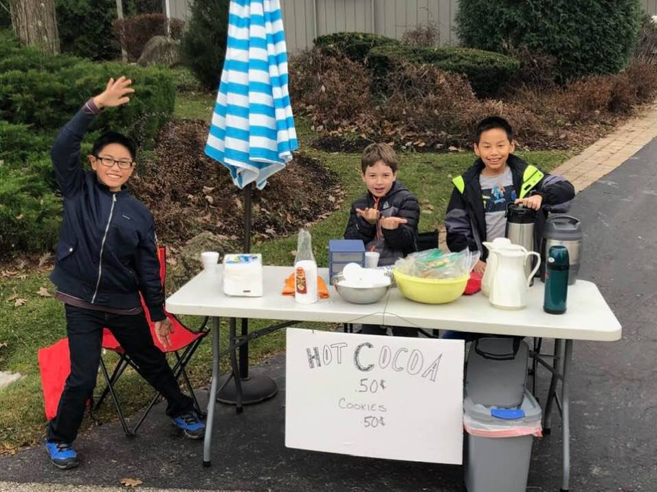 Let It Be Us Hot Cocoa Stand - 1