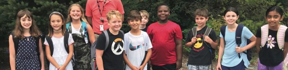 Roslyn Road School Students