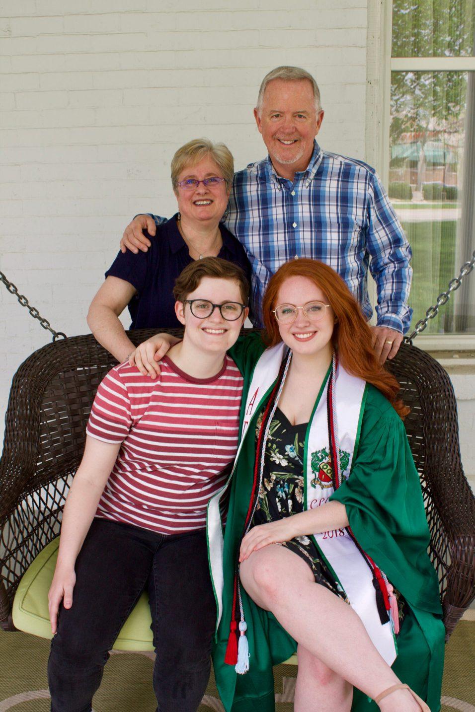 Barrington Area Volunteer Connection Frank McGovern Family
