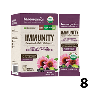Bare Organics Water Enhancers