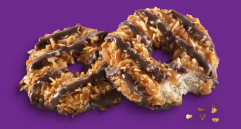 Girl Scout Cookies - Caramel DeLites