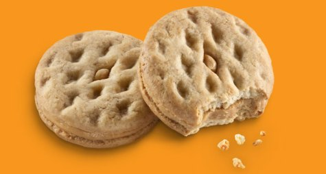 Girl Scout Cookies - Do-si-dos - Peanut Butter Sandwich