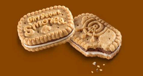Girl Scout Cookies - Girl Scout Smores