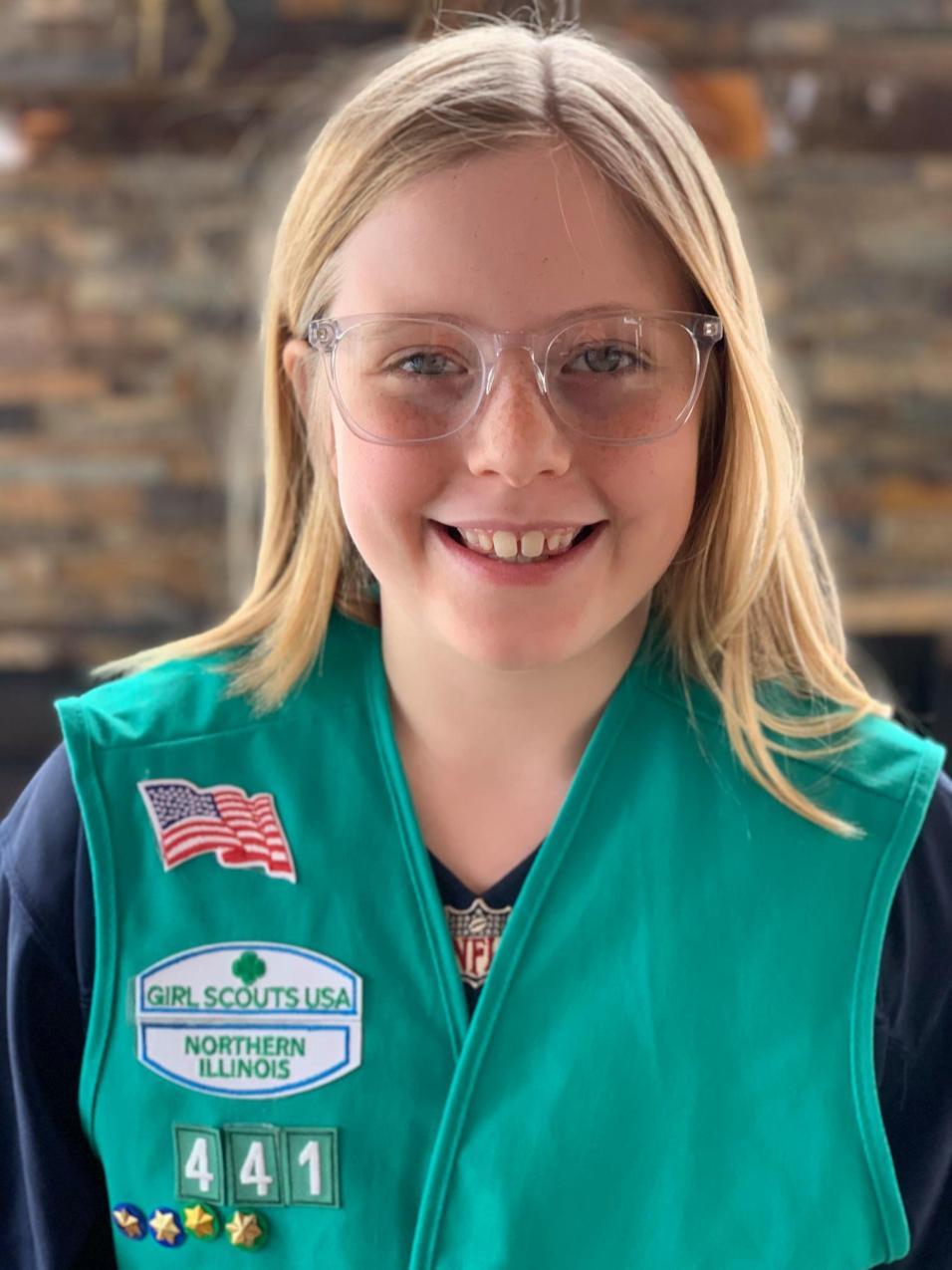 Payton Schmitt Girl Scout