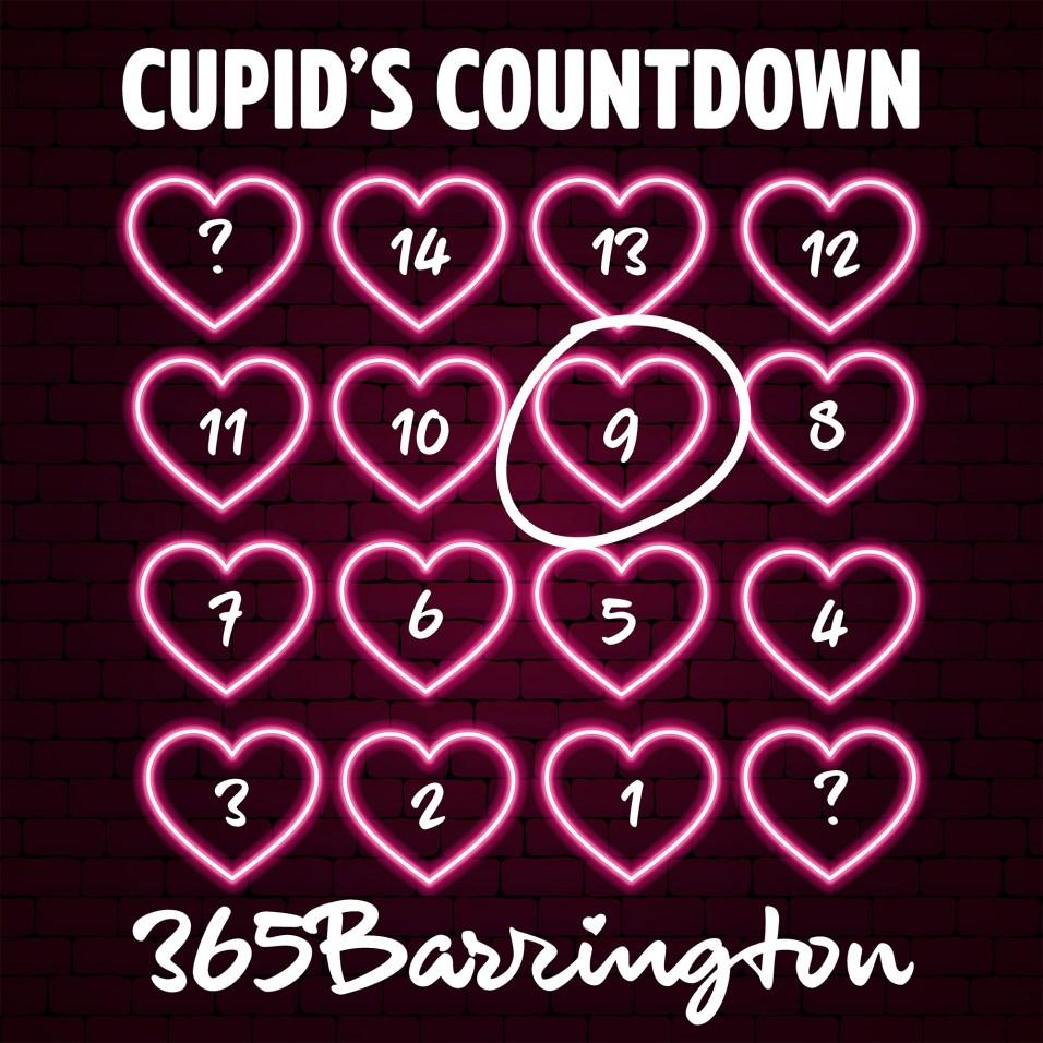 Cupid's Countdown - FULL CALENDAR - 9