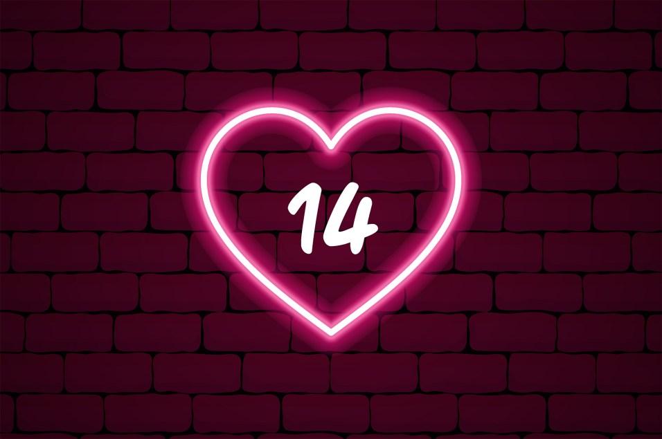 Cupid's Countdown - HEART - 14