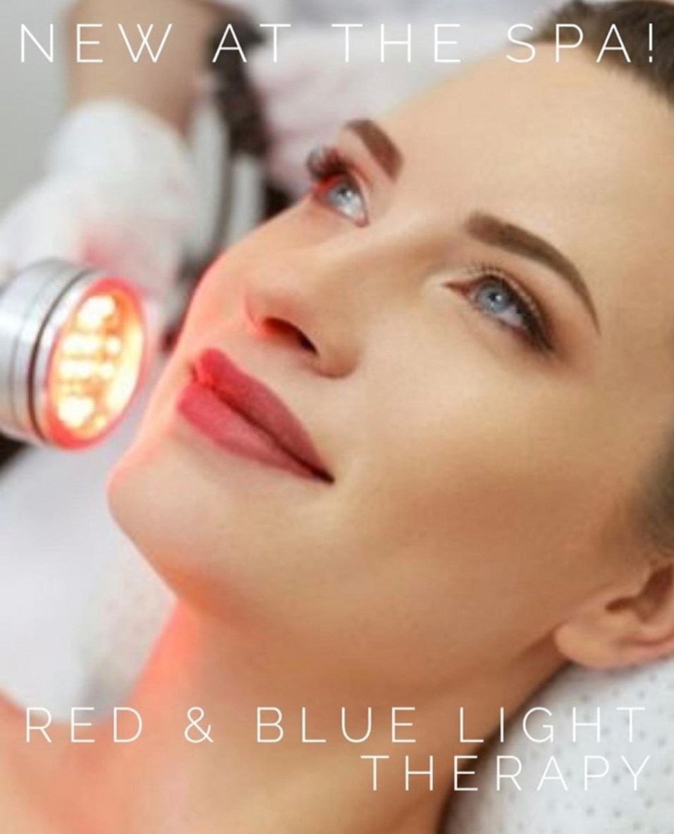 Advocate Good Shepherd Hospital Health & Fitness Spa Red and Blue Light Therapy