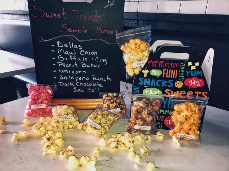 Barrington Popcorn Bar - Sample Pack - 2