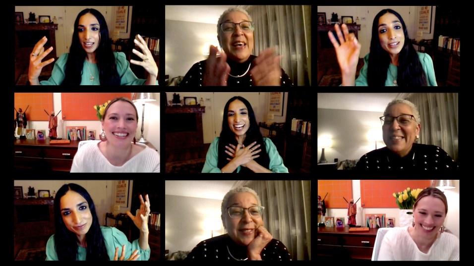 Couragous Conversations Barrington - Valarie Kaur Speaker Grid