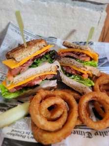 Wild Onion Brewer & Banquets - Turkey Bacon Club with Avocado Ranch