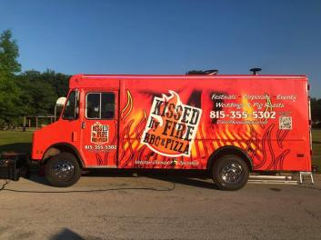 Deer Park Town Center Food Trucks - Kissed by fire