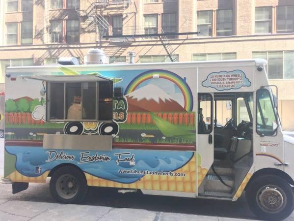 Deer Park Town Center Food Trucks - La Humita on Wheels - 2