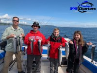 mid-day charter fishing