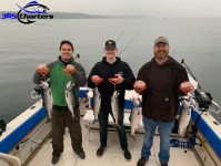 Shared charter fishing