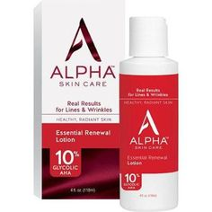 Alpha Skin Care Essential Renewal Lotion 10%