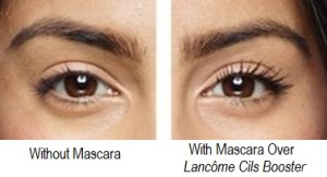 Lancôme Cils Booster Before After