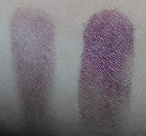 Eye Shadow With and Without Tarte Clean Slate 360 Creaseless 12-Hour Smoothing Eye Primer