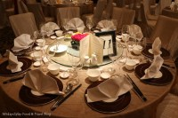 Four Seasons Wedding Dinner