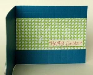 Easter Gift Card Card - inside