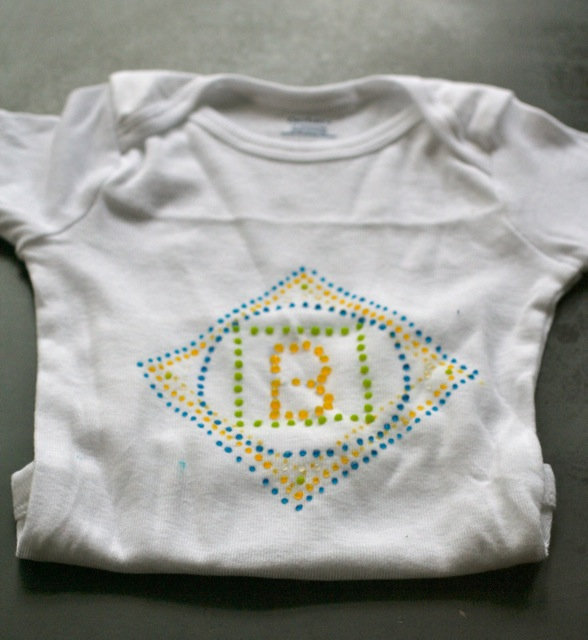 diy baby clothes Cute Couture with Bead in a Bottle